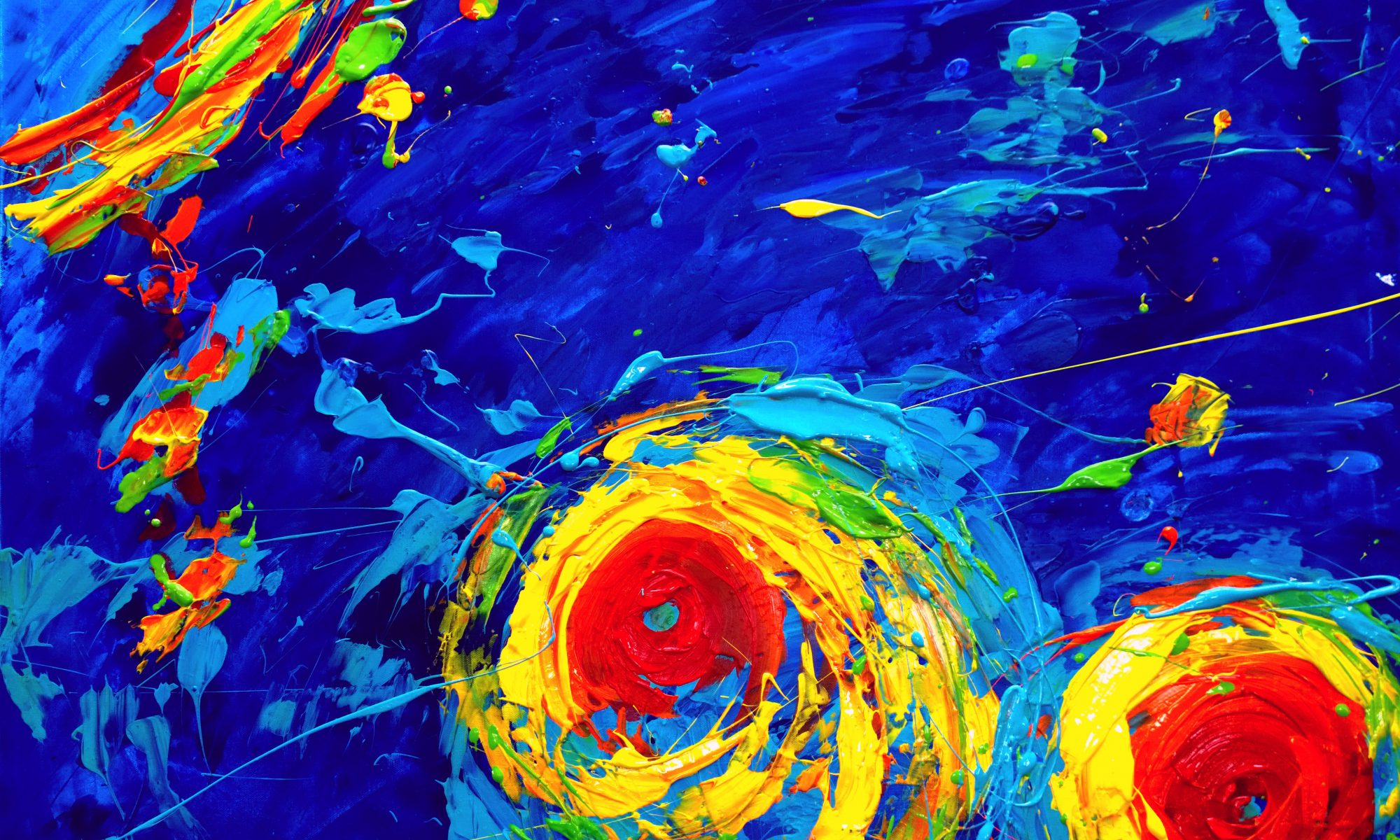Hurricane Irma oil painting climatic change Christian Seebauer
